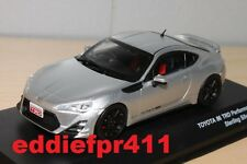 1/43 TOYOTA 86 TRD PERFORMANCE COUPE STERLING SILVER METALLIC KYOSHO JCOLLECTION