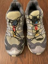 Men's Salomon Running Hiking Trail Show Size 7.5 Pre-Owned