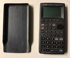 Casio fx-7400G Plus Power Graphic Calculator w/ Case Cover 32 KB Program link