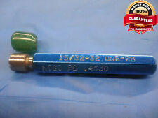 1532 32 Uns 2b Thread Plug Gage 46875 No Go Only Pd 4530 Groove Check