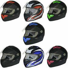Integralhelm Motorradhelm Motorrad Integral Roller Quad Helm rueger Kinderhelm