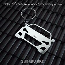 Subaru BRZ Stainless Steel Keychain