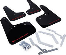 Rally Armor UR Mud Flaps Black w/ Red 13+ Focus ST & 16 Focus RS  MF27-UR-BLK/RD
