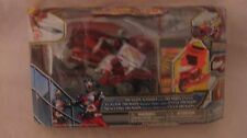Kamen Rider Dragon Knight With Dragon Cycle In Red From Bandai 2009     NEW t304