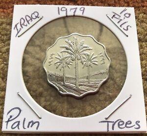 Iraq 10 Fils 1979 Coin Km# 126a