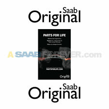 NEW GENUINE SAAB PARTS FOR LIFE POSTER - SMALL - RARE DEALER ITEM