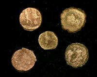LOT OF 5 X ANCIENT GREEK COINS  - VERY GOOD CONDITION