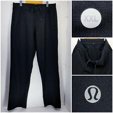 Lululemon Mens 2XL XXL Tall Athletic Sweatpants Jogger Pants Black