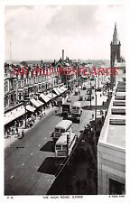 London, ILFORD The High Road IG1 - Real Photographic postcard.