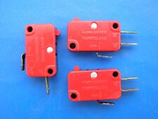 micro switches for (electro-mechanical) icemakers;  {ONE set of (3 switches) }