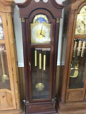 Ethan Allen grandfather clock with moon dial