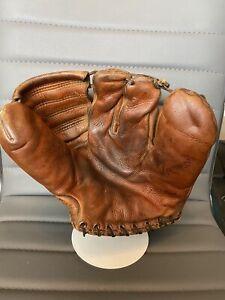 1940's MacGregor Goldsmith Model GB29 Three Finger Vintage baseball glove