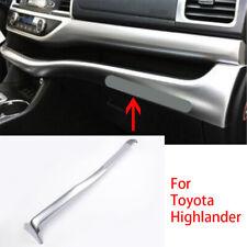 For Toyota highlander 15-2018 Interior Center Console Stripe Decorative Trim