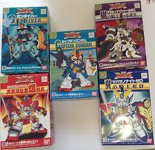 Bandai SD Superior Defender Gundam Force Set Of 5 Model Kits
