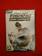 PC COMPUTER DOVETAIL GAMES FISHING SIM WORLD NUOVO SIGILLATO ITA ITALIANO