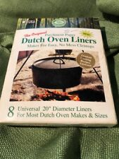 "Lot 4 New The Original Parchment Paper Dutch Oven Liners 20 "" Diameter"