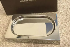 Molton Brown Elemental Chrome Soap And Hand Lotion Holder Unboxed/ Storage Signs