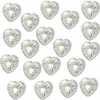 10 x piso Trasero Cristal Mariposa Diamante Adorno brillante pedrería