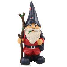 "New England Patriots Holding Stick Decorative Garden Gnome 10"" Yard Decor NEW"