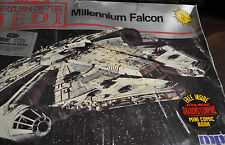 MPC 1989 STAR WARS Return of the Jedi MILLENNIUM FALCON #8917 Model Kit, SEALED!