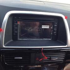 For Mazda CX5 CX-5 2013-2015 Inside Decorative Center Control Cover Accessories