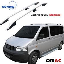 Dachreling Alu Grau VW T5 / T6 Transporter / Multivan Kurz Rads mit TÜV / ABE