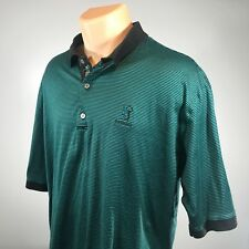 Bobby Jones 2XL Golf Polo Mens Shirt Size XXL Short Sleeve Green Striped