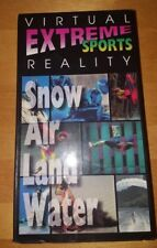VIRTUAL REALITY EXTREME SPORTS SNOW AIR LAND WATER Rare Obsuce Vhs Tape