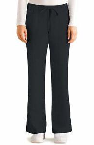 "Grey's Anatomy #4232 Elastic Drawcord Waist Scrub Pant in ""Steel"" Size XL-Petite"