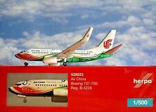 Herpa Wings 1:500  Boeing 737-700 Air China B-5226  528023  Modellairport500