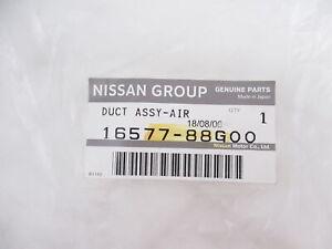 Genuine OEM Nissan 16577-88G00 Intake Air Duct V6 2WD 89-95 Pathfinder 89-94 D21