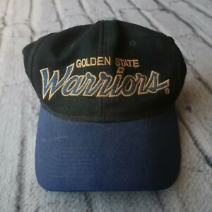 Vintage 90s Golden State Warriors Snapback Hat by Sports Specialties Cap