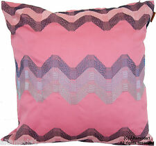 MISSONI HOME CUSHION COVER EMBROIDERED HILLY 253 Kissenhülle Baumwolle SATIN