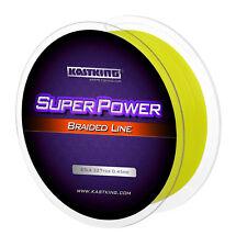 KastKing SuperPower Braid Fishing Line Yellow Spectra Dyneema PE Super line