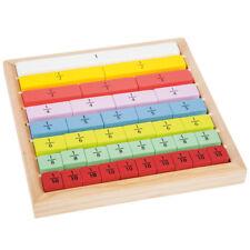 Rechenrahmen Bruchrechnen Rechenkasten Holz Rechenhilfe Rechnen lernen Lernspiel