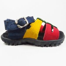 Nike ACG Sandals In Blue/Yellow/Red/Black Size 4 (Toddler)