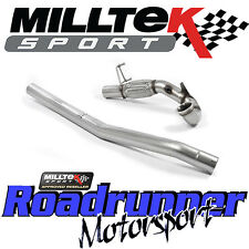 "Milltek Audi TTS MK3 2.0TFSi Quattro 3"" Largebore Decat Downpipe Exhaust New"