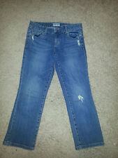 Aeropostale Distressed Cropped Jeans Size 1/2