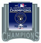 2021 MILWAUKEE BREWERS NATIONAL LEAGUE PIN CENTRAL DIVISION CHAMPS WORLD SERIES