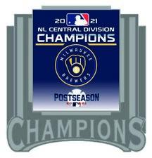 2021 Milwaukee Brewers National League Broche Central Division Champs Du Série