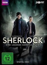 2 DVDs * SHERLOCK - SEASON / STAFFEL 2 # NEU OVP WVG