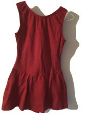 Adult size small Red Figure Skating Dress