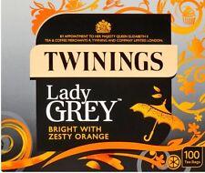 Twinings Aromatics Lady Grey Tea 1 Box of 100 Tea Bags