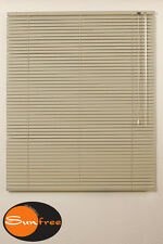 Sunfree Aluminium Jalousie 100 x 120 cm (BxH) beige