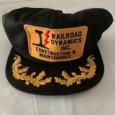 Railroad Dynamics Inc. Construction & Maintenance Scrambled Egg K-Product Hat