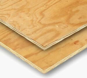 3/8-in 4 x 8-ft Plywood Sheathing 25 Sheets Price Georgia Pacific APA 3 Ply