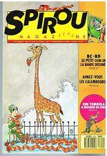 A10- Spirou N°2701 Les Bogros