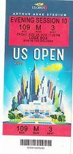 2014 US OPEN TENNIS MARIA SHARAPOVA ROGER FEDERER SESSION #10 TICKET STUB 8/29