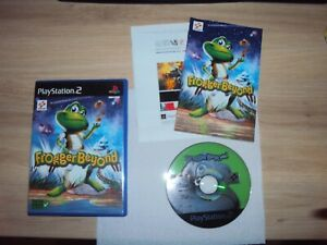 ***TRES RARE*** Frogger Beyond  Complet VERSION FRANCAISE PS2