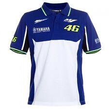Valentino Rossi VR46 Yamaha Factory Racing Royal Blue MotoGP Polo 46 T-Shirt